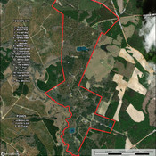 Map of Food plots & ponds