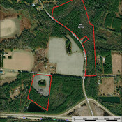 Aerial - Additional acreage available