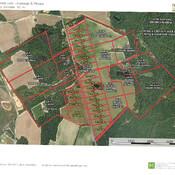 Aerial Map - Lot Acreage & Prices