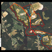 Pleasand Hill Farm 359 acres Aerial Map