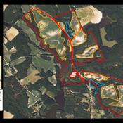 Pleasand Hill Farm 359 acres Aerial Map